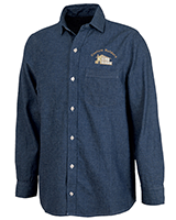 Custom Industrial Denim Work Shirts