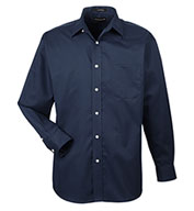 UltraClub Mens Stain Resistant Whisper Elite Twill Shirt