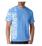 Custom Tie-Dye Adult One-Color Fusion Tee Mens
