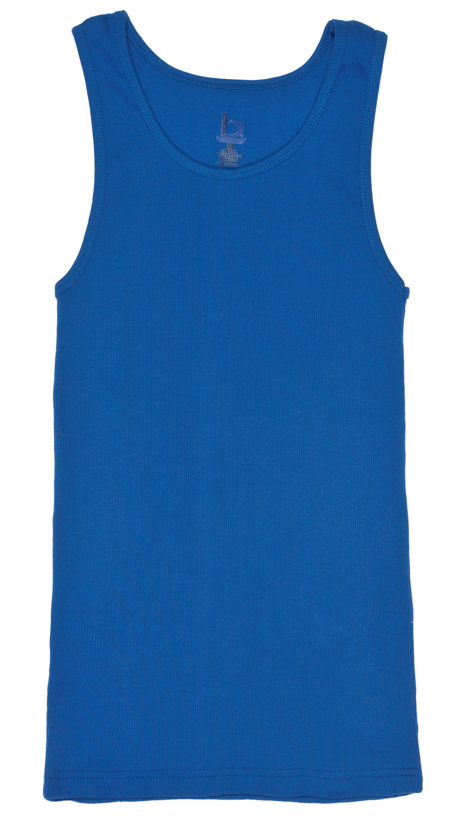 Juniors Ribbed Boy Beater Tank