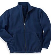 Custom Mens Fleece Full Zip Jacket Mens