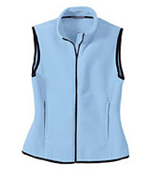 Ladies Full-Zip Fleece Vest
