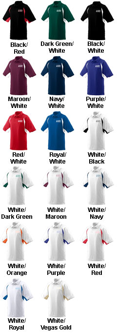 Wicking Textured Raglan Sleeve Sport Shirt (In 17 Team Colors) - All Colors