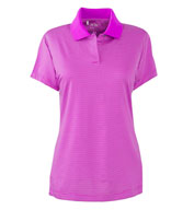 Adidas Golf Ladies ClimaLite® Classic Stripe Short-Sleeve Polo