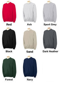 80/20 Heavyweight Ultra Cotton Crew Neck Sweatshirt - All Colors