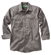 Custom Mens 100% Cotton Long Sleeve Uniform Shirt