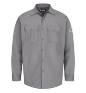 Custom Button Front Work Shirt