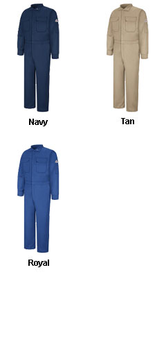 Bulwark® CAT1 Flame Resistant Deluxe Coverall - All Colors