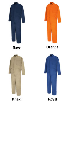 Bulwark® CAT2 Flame Resistant Classic Coveralls - All Colors