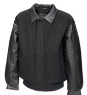 The Escalade Leather & Wool Mens Jacket