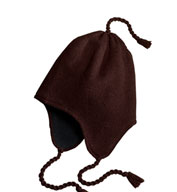 Custom Knit Hat with Earflaps