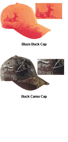 Dri-Duck Wildlife  Buck Embroidery Caps - All Colors