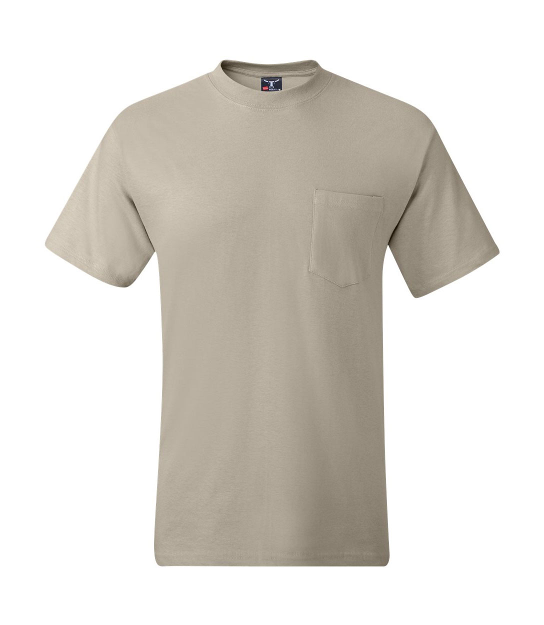 Hanes 100% Cotton Pocket Beefy-T