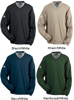 ADIDAS ClimaProof� V-Neck Windshirt - All Colors