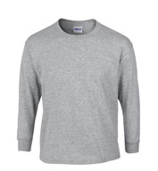 Gildan Youth 100% Heavyweight Ultra Cotton Long Sleeve Tshirt