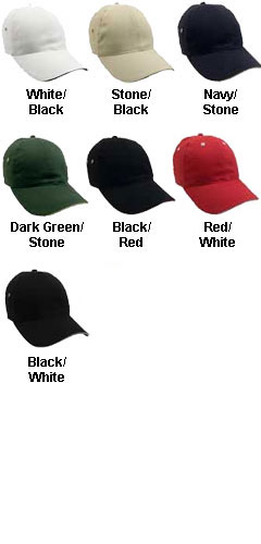 Constructed Lightweight Brushed Cotton Twill Sandwich Cap - All Colors