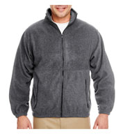 Custom UltraClub Iceberg Fleece Full-Zip Jacket Mens