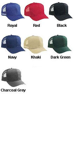 Cotton Twill Pro Style Mesh Back Cap - All Colors