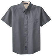 Custom Mens Easy Care, Wrinkle Resistant Short Sleeve Shirts . Mens