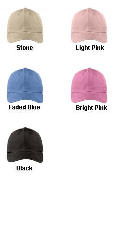 Ladies Garment-Dyed Cap - All Colors