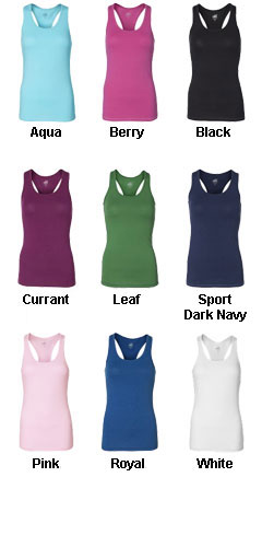All Sport Ladies Racerback Bamboo Tank - All Colors