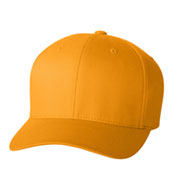 Six Panel Low Profile Twill Flex Fit Cap