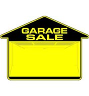 Custom Double-Sided Garage Sale Sign