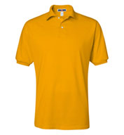 Custom Jerzees Mens 50/50 Jersey Knit Polo with SpotShield™