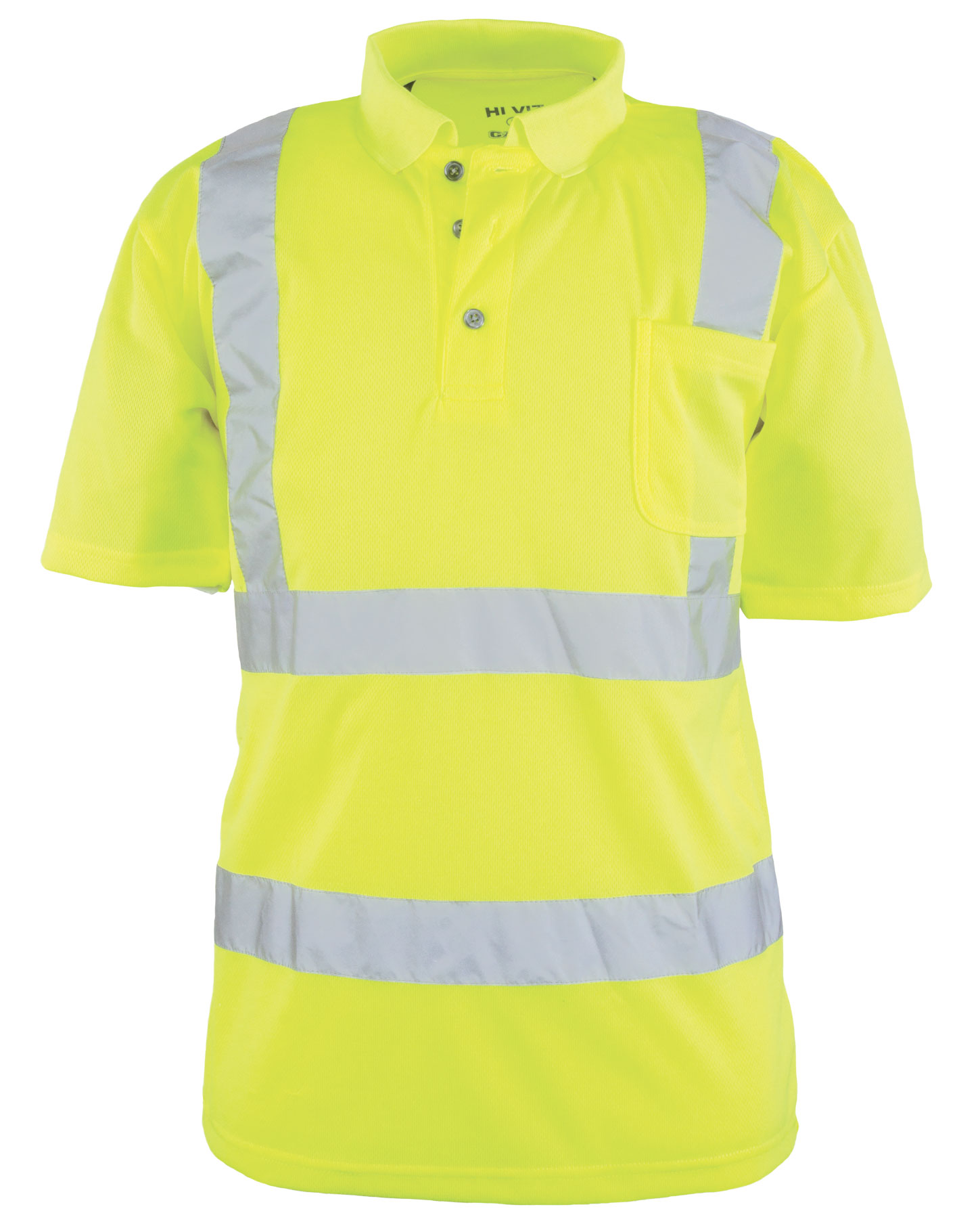 TheANSI/ISEA 107-2004 Class 2  Foreman Polo