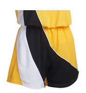 Custom Girls Tri-Panel Mesh Softball Short