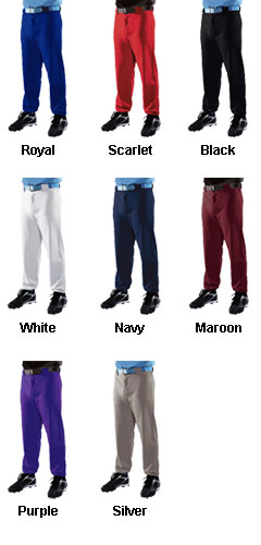 Youth Pro-Weight Solid 14 oz. Baseball/Softball Pants - All Colors