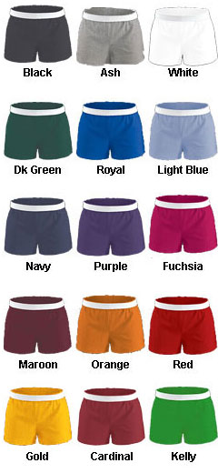 Girls MJ Soffe Cheerleading Short - All Colors