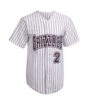 Custom Youth Pro Style Pinstripe 6 Button Front Jersey