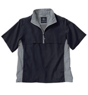The Ace Short Sleeve Windshirt by Charles River Apparel