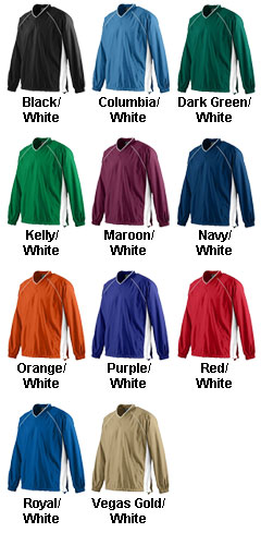 Youth Micro Poly Pullover Jacket - All Colors