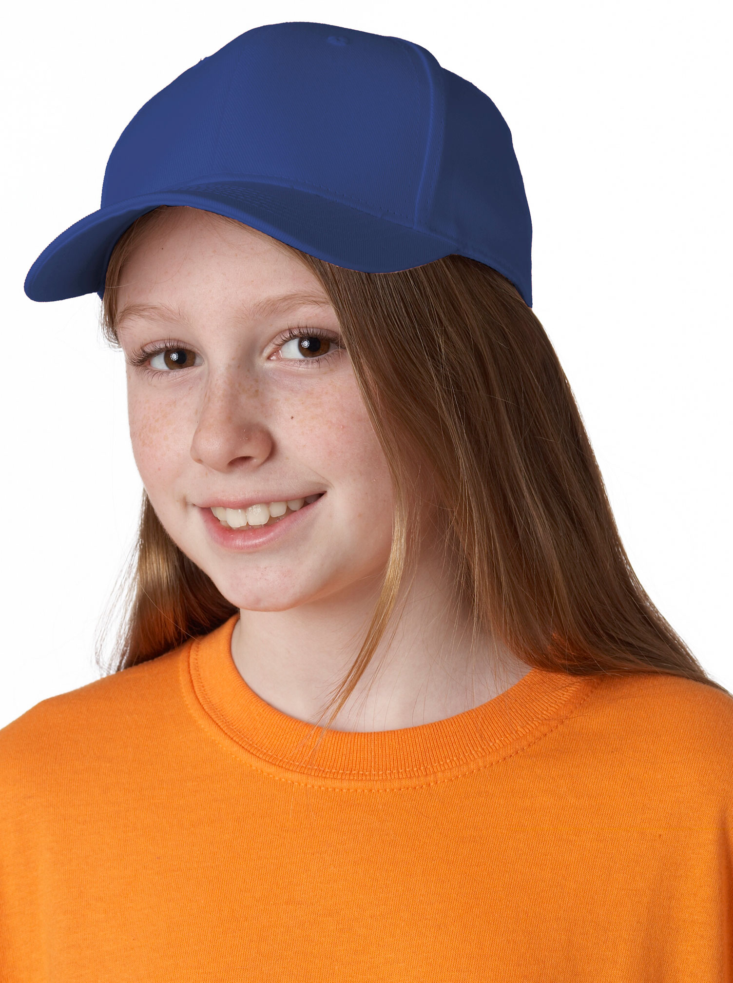 Youth Classic Cut Cotton Twill Cap