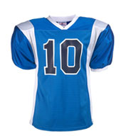 Custom Youth Striped Steelmesh Football Jersey