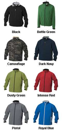 Mens SOFTSHELL Jacket by Clique  - All Colors