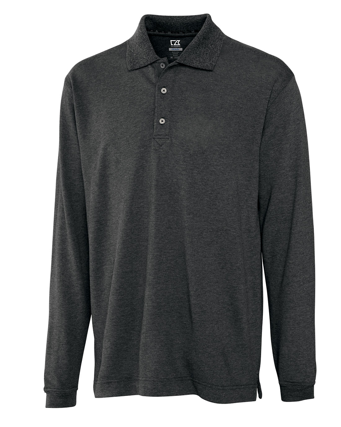 CB DryTec Long-Sleeve Championship Polo for Men