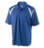 Mens Laser Coaches Polo by Holloway