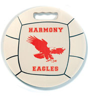 Volleyball Round Ball Stadium Seat Cushions For Bleachers