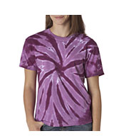 Youth Pinwheel Tie Dye T-shirts