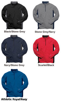 Champion® Double Dry® Half-Zip Fleece - All Colors