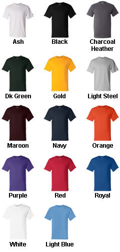 Champion® 6.1 oz. Cotton Tagless T-Shirt - All Colors