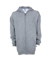 Youth Russell Dri-power Fleece Full-zip Hood