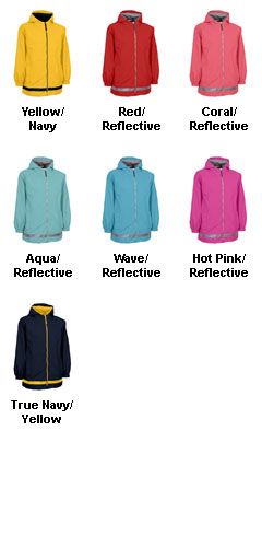 New Englander Youth Rain Jacket by Charles River Apparel - All Colors