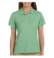 Womens Performance Plus Pique Logo Polo