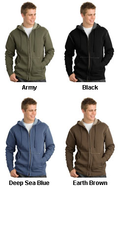 District Threads® - Vintage Fleece Full Zip Hoodie - All Colors