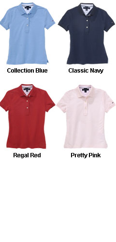 Tommy Hilfiger Womens Rhodes Polo - All Colors