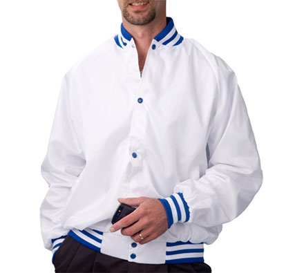 Customize Pro-Satin Baseball Jacket - Quilt Lined Mens